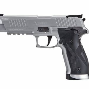 Sig Sauer X5 Silver CO2 .177 Pellet & 4.5mm BB Air Pistol