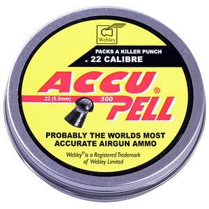 webley accupell .22 pellets