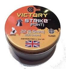 victory strike point .22 pellets romford airgun centre